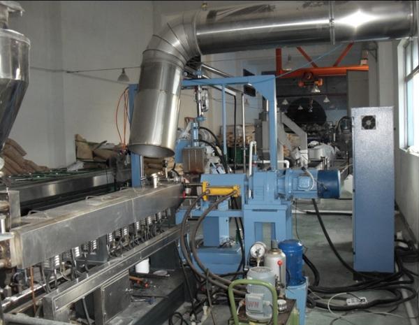 在PA 水下切拉生产线zhong的应用